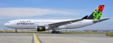 Az Afriqiyah egyik Airbus A330-200-as repülőgépe