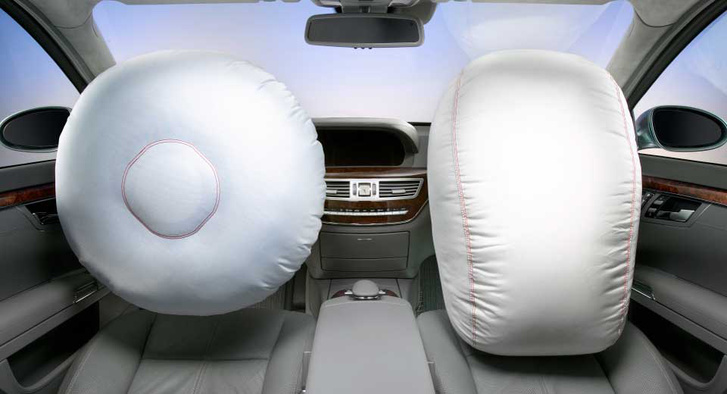 mercedes-airbags