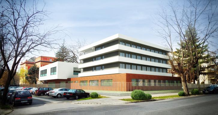 AZ MTF új épületének látványtervei