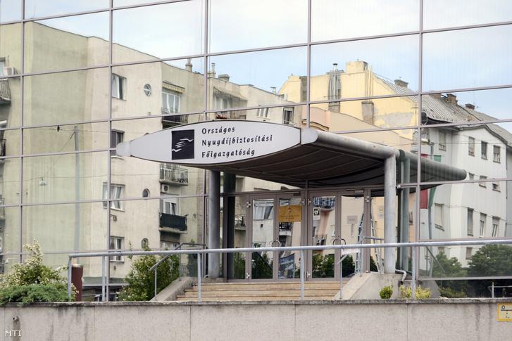 Az Országos Nyugdíjbiztosítási Főigazgatóság épülete a Visegrádi utcában
