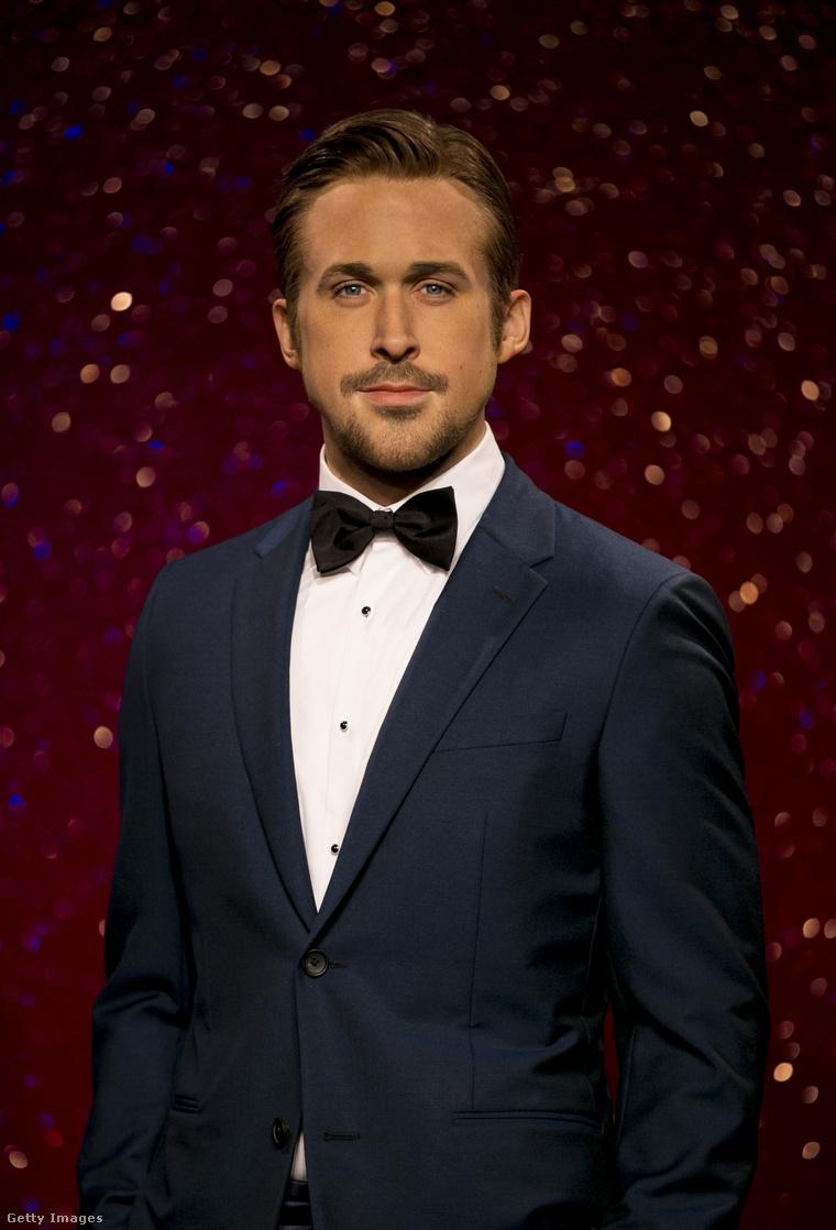 Gosling a londoni panoptikumban.