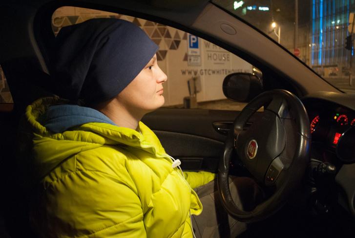 Juci már nyolc éve dolgozik sofőrként.