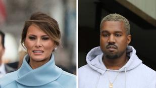 Leleplezés! Donald Trump felesége valójában Kanye West!