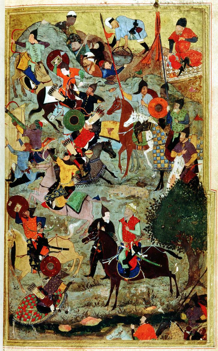 Timur Lenk ostromolja a Szent János lovagrendet Szmirnában (a mai törökországi Izmir)