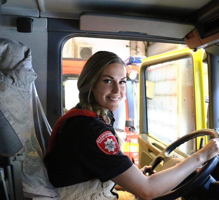 """""""19 évesen döntöttem el, hogy tűzoltó leszek"""