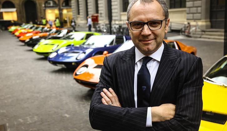 Stefano Domenicali Lamborghini-vezérként