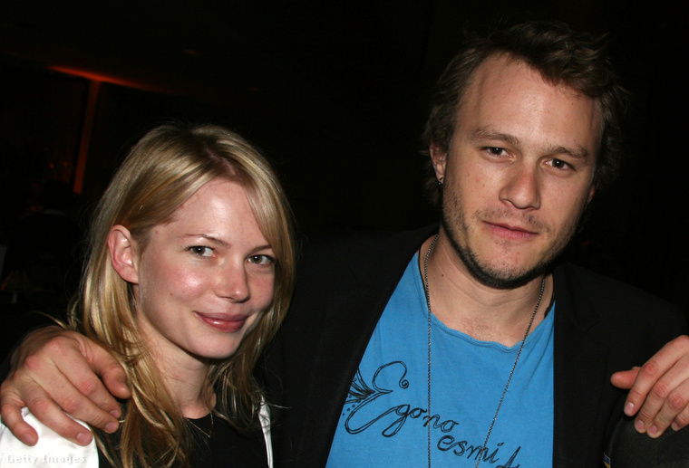 Michelle Williams és Heath Ledger 2006-ban.