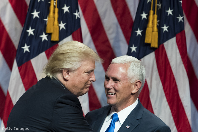 Donald Trump és Mike Pence