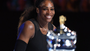 Serena Williams 23. Grand Slamjét nyerte, túllépett Steffi Grafon