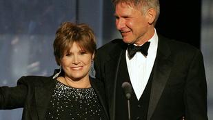 Carrie Fisher azt kérte Harrison Fordtól, hogy ő énekeljen az Oscar-díjátadós megemlékezésén