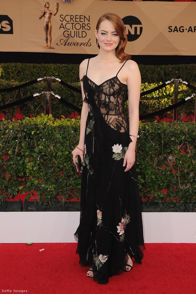 Miközben nálunk még éjjel volt, Emma Watson a SAG Awardson (a filmes és tévés színészek céhének díjátadója) megkapta a legjobb női főszereplőnek járó díjat, a Kaliforniai álomcímű filmben nyújtott alakításáért.
