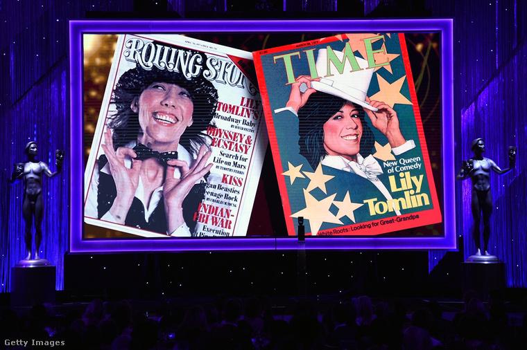 Az életműdíjat pedig Lily Tomlin kapta
