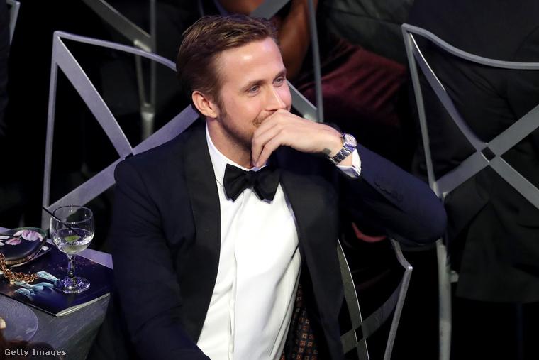 Természetesen nem ez az első gála idén, amin Gosling az egyik nagy húzónév