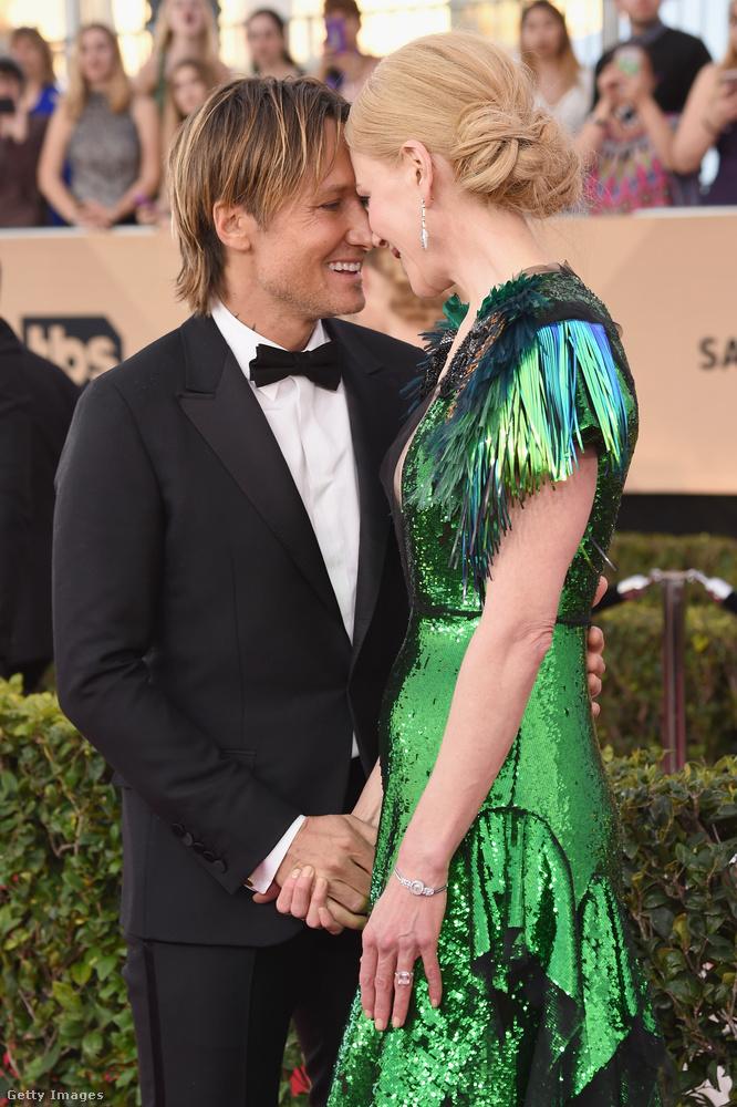 A mindig is gerlepárként turbékoló Nicole Kidman és Keith Urban most is gerlepárként turbékolt