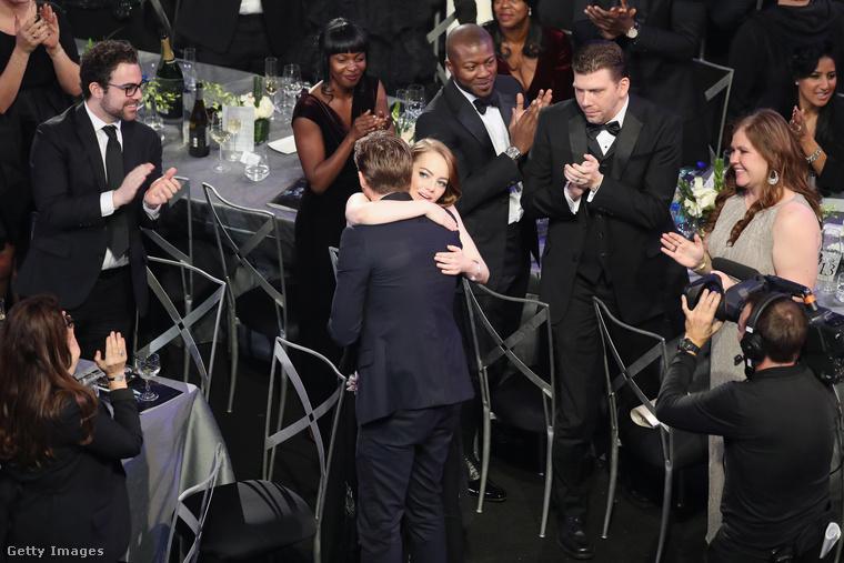 Volt rá ok: Stone megkapta a legjobb női főszereplőnek járó elismerést.