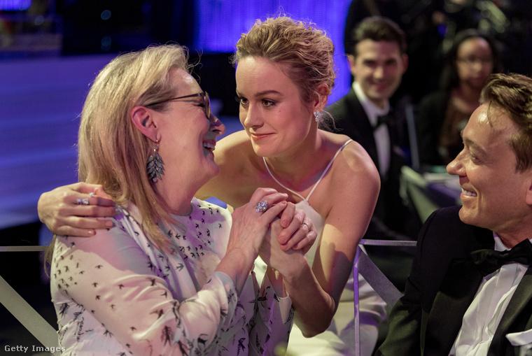 Ugyanőt  Brie Larson szereti nagyon