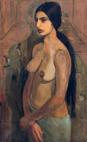 Önarckép tahiti nőként 1934.