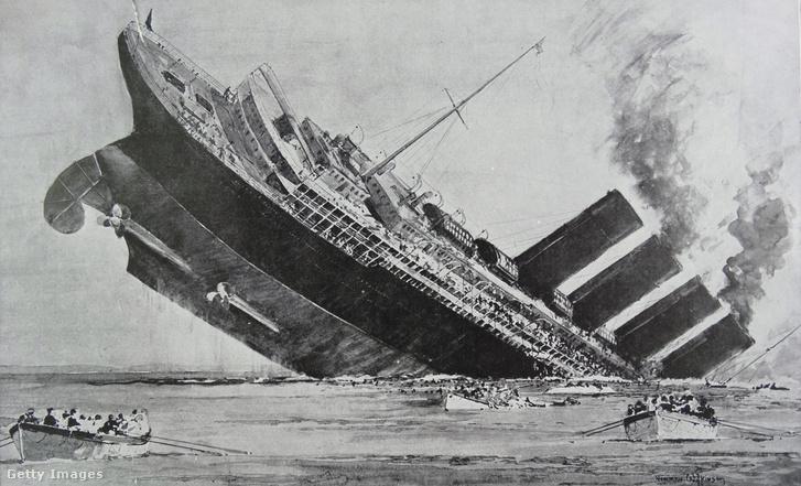 A Lusitania elsüllyesztése