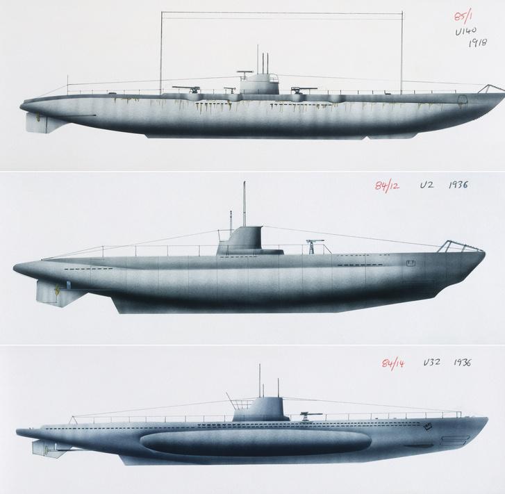 U-boat U140, 1917U-boat U2, 1906U-boat U32, 1937