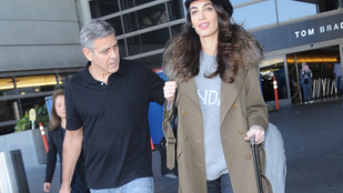 Amal Clooney nem adja meg azt az örömöt, hogy lássuk terhesen