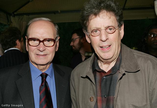 Ennio Morricone és Philip Glass