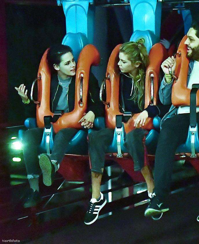 - Stella, ugye nem fogsz hányni? - kérdezte Kristen Stewart a barátnőjét