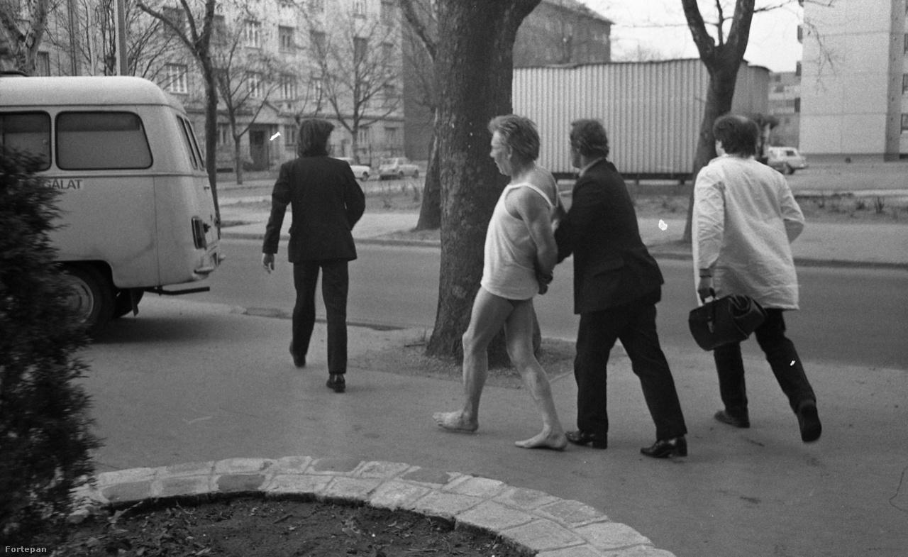 Budapest, 1980-as évek közepe