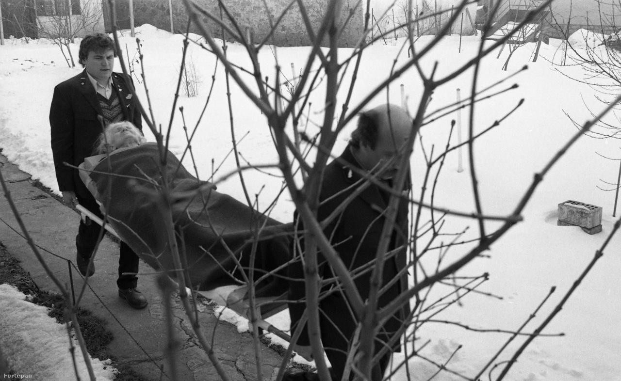 Mentősök Baranyában, 1986.