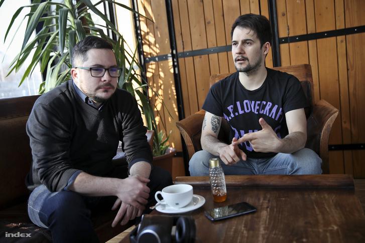 Bali Dávid és Boross Zoltán