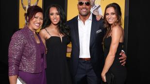 Dwayne Jonhson családi élete már-már rejtély