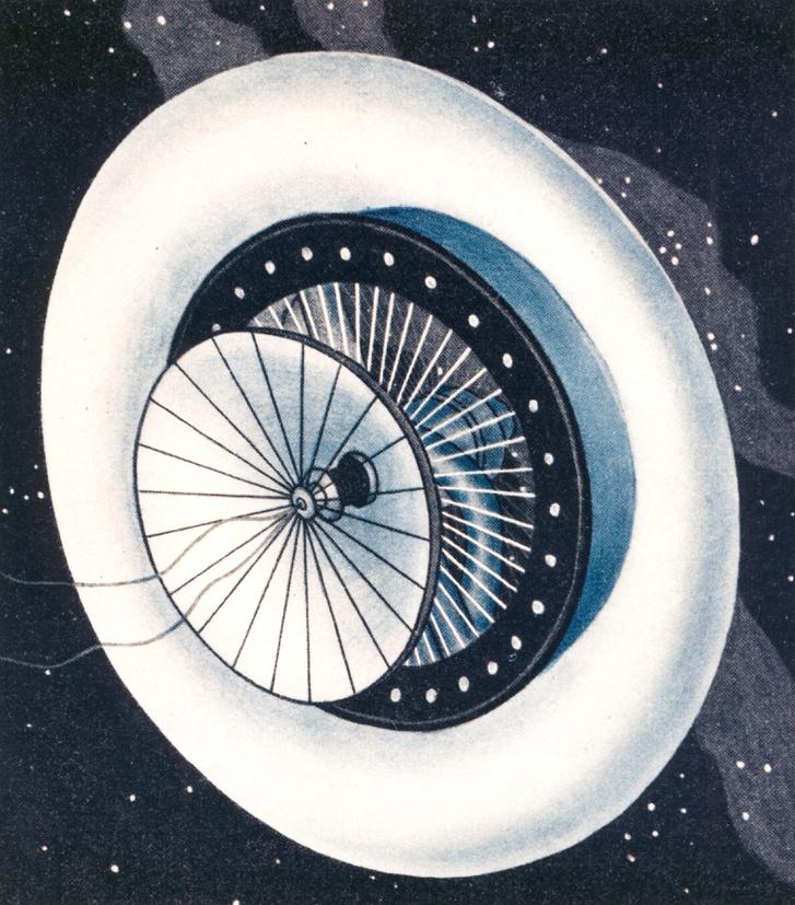 Noordung űrállomásterve, 1929