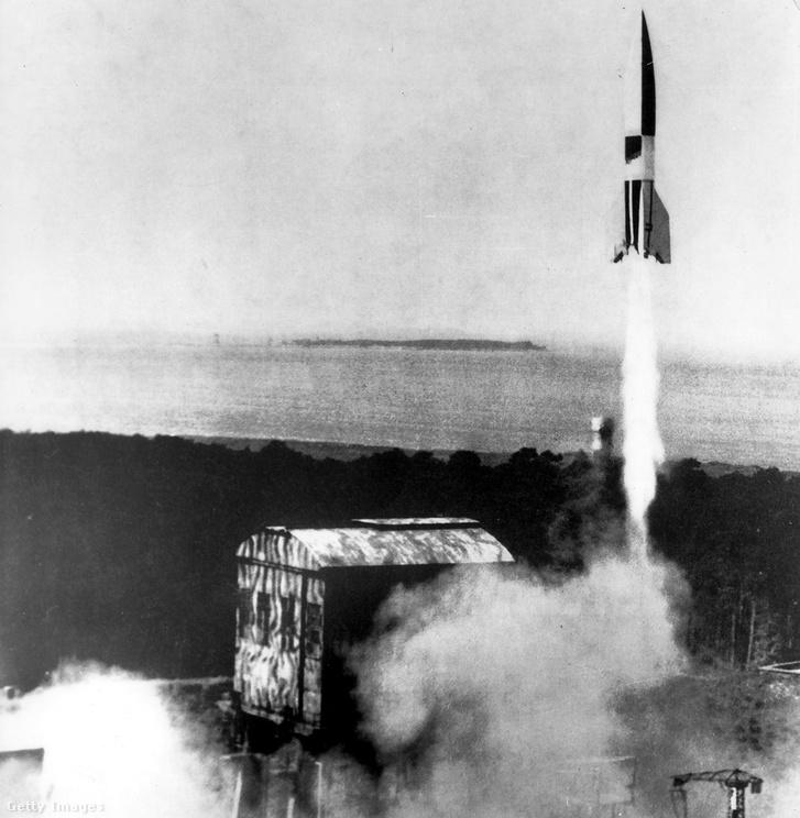 Rakétatechnológiában mindenkinél előrébb jártak a németek