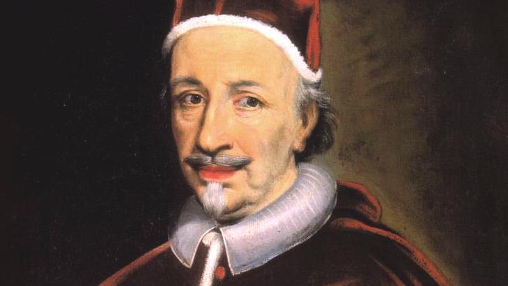 XII. Ince pápa ismeretlen festő képén