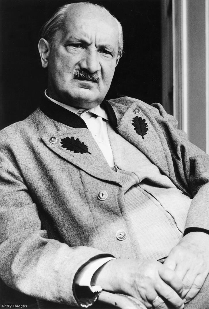 Martin Heidegger 1965-ben