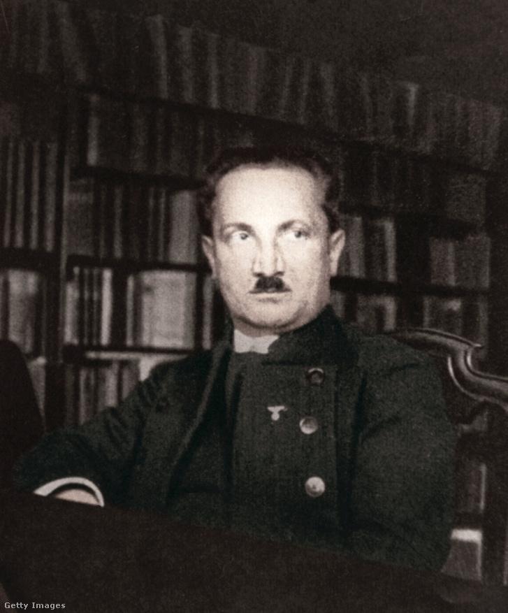 Heidegger, 1933-ban