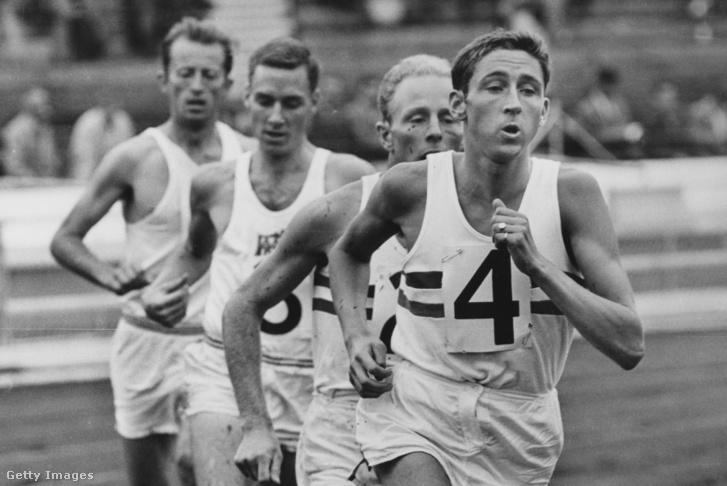 Hill az élen egy 1963-as versenyen