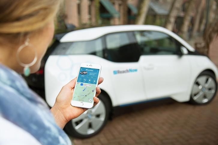 A BMW közelmúltban indult autómegosztó szolgáltatása a ReachNow
