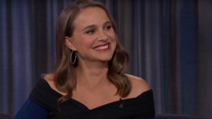 Mindenki megnyugodhat! Jimmy Kimmel simán levezeti Natalie Portman szülését az Oscar-díjátadón