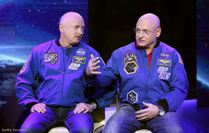 Mark és Scott Kelly - két úr az űrből