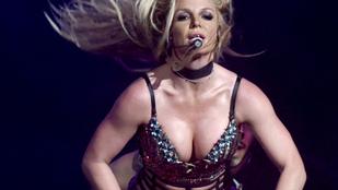 Britney Spears megint többet mutatott magából, mint tervezte