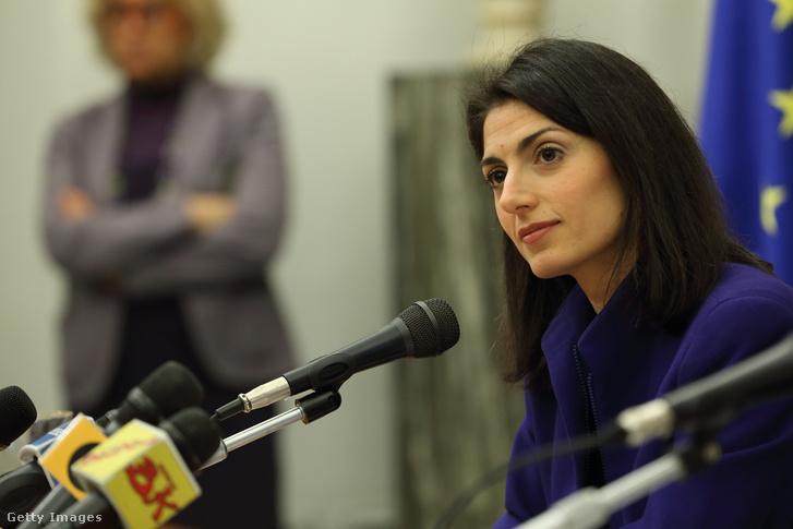 Virginia Raggi, Róma főpolgármestere