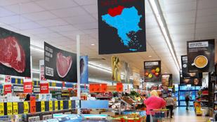 A német hipermarket szerint Magyarország már a Balkán