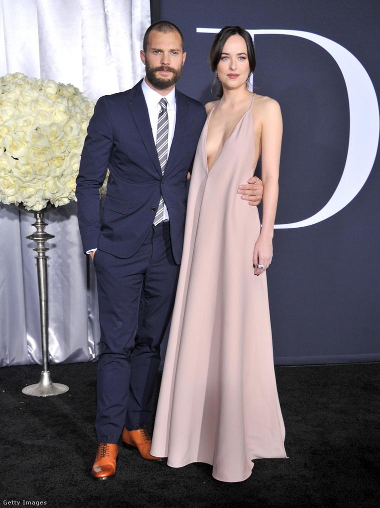 Dakota Johnson és Jamie Dornan