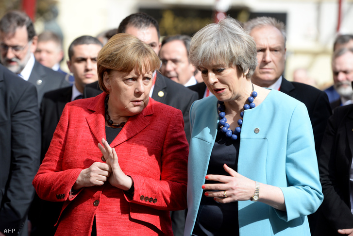 Angela Merkel és Theresa May