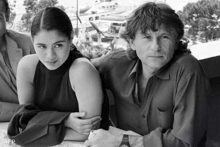 Charlotte Lewis és Roman Polanski 1986-ban