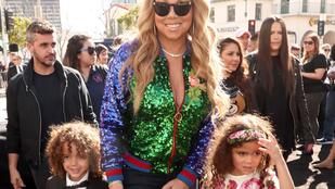 Mariah Carey megmutatta ikreit