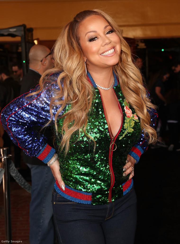 Mariah Carey napszemüveg nélkül.
