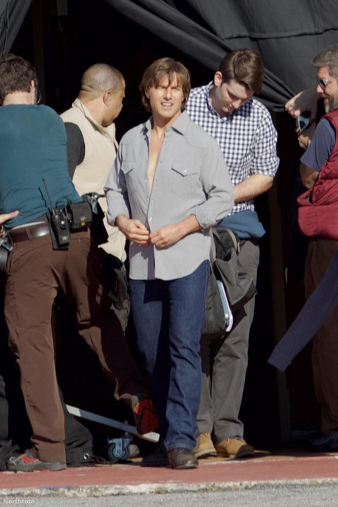 Ön látta mostanában Tom Cruise-t? Van róla pár friss képünk!