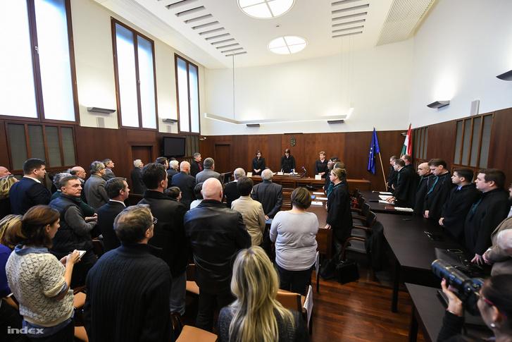 A per tárgyalása Győrben, február 6-án.