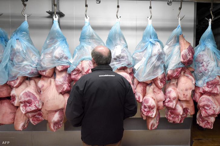 Kieső húsexport